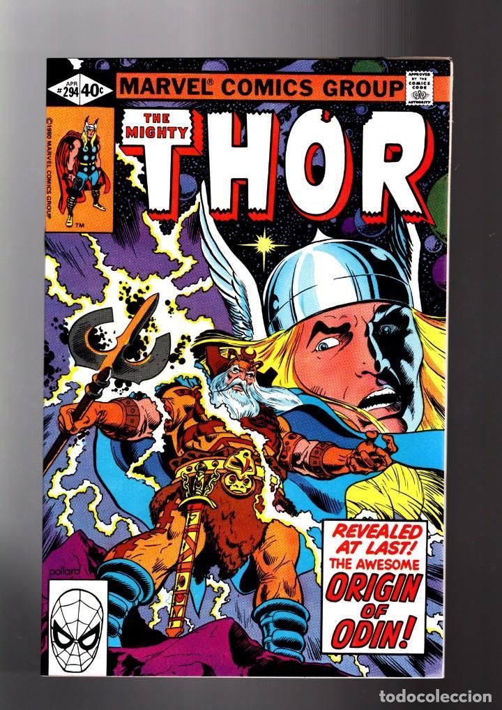 THOR 294 - MARVEL 1980 VFN/NM / THOMAS & POLLARD / ETERNALS CELESTIALS SAGA / ORIGIN ODIN (Tebeos y Comics - Comics Lengua Extranjera - Comics USA)