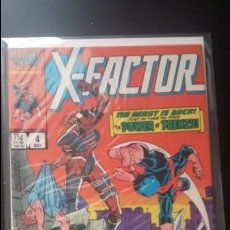 Cómics: X FACTOR # 4 (1ST SERIES COPPER AGE 1986) FRENZY 1ST APP VF. Lote 143298134