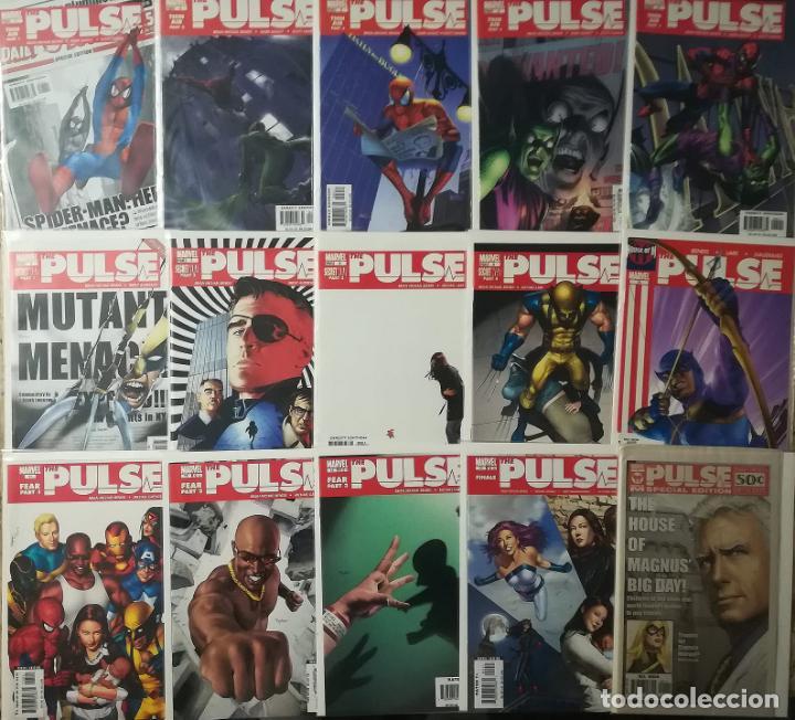 PULSE COMPLETA 14 NUMEROS MAS PULSE ESPECIAL EDITION EN INGLES (Tebeos y Comics - Comics Lengua Extranjera - Comics USA)