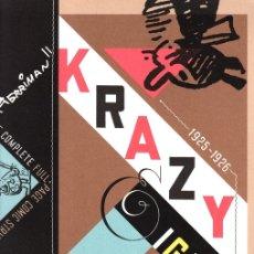 Cómics: KRAZY & IGNATZ. GEORGE HERRIMAN. 1925-1926. ED. BILL BLACKBEARD, 2002. INGLES. Lote 143609420