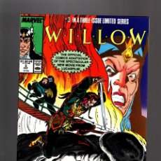 Cómics: WILLOW 3 - MARVEL 1986 VFN / JO DUFFY & BOB HALL. Lote 214355142