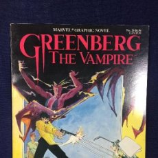 Cómics: GREENBERG THE VAMPITE THE MARVEL COMICS GROUP 1996 EL VAMPIRO BUEN ESTADO . Lote 144008690