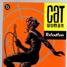 Cómics: CATWOMAN. RELENTLESS. BRUBAKER - STEWART - PULIDO. DC COMICS, 2004. INGLES. Lote 144107006