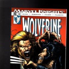 Cómics: WOLVERINE 15 - MARVEL 2004 VFN/NM / RUCKA & ROBERTSON / RETURN OF THE NATIVE. Lote 144146262