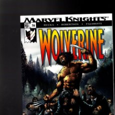 Cómics: WOLVERINE 16 - MARVEL 2004 VFN/NM / RUCKA & ROBERTSON / RETURN OF THE NATIVE. Lote 144146342