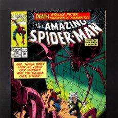 Comics : AMAZING SPIDER-MAN 372 MARVEL 1993 VFN+ / MICHELINIE & BAGLEY. Lote 204493182