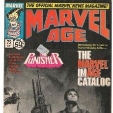 Cómics: MARVEL AGE. Nº 72. MARVEL ORIGINAL USA EN INGLÉS(ST/EXT). Lote 145329478