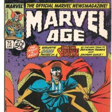 Cómics: MARVEL AGE. Nº 75. MARVEL ORIGINAL USA EN INGLÉS(ST/EXT). Lote 145329666