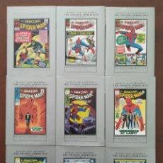 Cómics: MARVEL MASTERWORKS - THE AMAZING SPIDER-MAN VOLUME 2, 3, 4, 5, 8, 9, 10, 12, 13. HARDCOVER SPIDERMAN. Lote 132866350