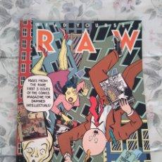 Cómics: RAW NºS 1 2 Y 3 - ART SPIEGELMAN - WINSOR MC CAY - MARISCAL - MUÑOZ & SAMPAYO - BURNS - TARDI. Lote 145872870