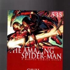 Cómics: AMAZING SPIDER-MAN 535 - MARVEL 2006 VFN / STRACZYNSKI & GARNEY / CIVIL WAR. Lote 146260850