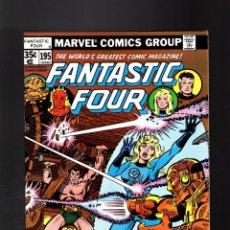 Cómics: FANTASTIC FOUR 195 - MARVEL 1978 VFN- / MARV WOLFMAN & KEITH POLLARD / SUB-MARINER. Lote 194657941