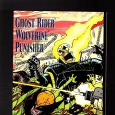 Cómics: GHOST RIDER WOLVERINE PUNISHER : HEARTS OF DARKNESS MARVEL 1991 VFN/NM PRETIGE / MACKIE / ROMITA JR. Lote 194084153