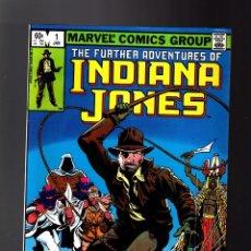 Fumetti: INDIANA JONES 1 - MARVEL 1983 VG+ / JOHN BYRNE. Lote 275732128