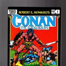 Cómics: CONAN THE BARBARIAN RED NAILS - MARVEL 1983 VFN / ROY THOMAS & BARRY WINDSOR SMITH. Lote 195418831