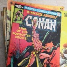Cómics: COMIC USA - KING SIZE ANNUAL CONAN - Nº 6 - MARVEL COMICS GROUP. Lote 147105294