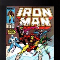 Cómics: IRON MAN 240 - MARVEL 1989 VFN-. Lote 195359177
