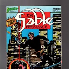 Cómics: JON SABLE FREELANCE 1 - FIRST 1983 VFN/NM / MIKE GRELL. Lote 195358762