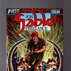 Cómics: JON SABLE FREELANCE 5 - FIRST 1983 FN/VFN / MIKE GRELL. Lote 195358555