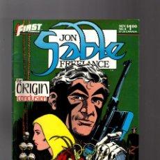 Cómics: JON SABLE FREELANCE 6 - FIRST 1983 VFN- / MIKE GRELL. Lote 195358470