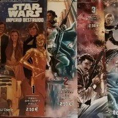 Cómics: STAR WARS. IMPERIO DESTRUIDO 1 A 4 (COMPLETA). Lote 147436534