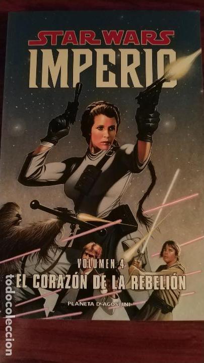 STAR WARS IMPERIO 4. EL CORAZÓN DE LA REBELIÓN (Tebeos y Comics - Comics Lengua Extranjera - Comics USA)