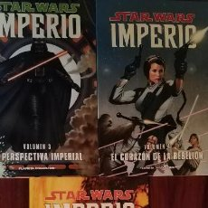 Cómics: STAR WARS IMPERIO 3 A 5. Lote 147438486