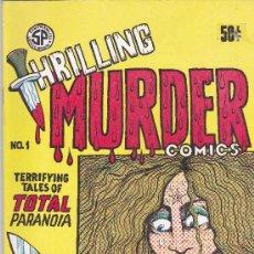 Cómics: THRILLING MURDER COMICS 1971 Nº1. Lote 147595906