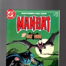 Cómics: MAN-BAT VS BATMAN SPECIAL EDITION - DC 1984 VFN- / FRANK ROBBINS & NEAL ADAMS. Lote 195354486