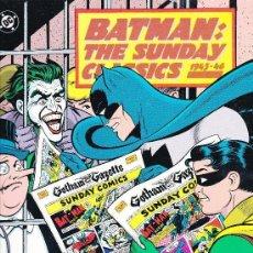 Cómics: BATMAN THE SUNDAY CLASSICS 1943-46 (1991 ). Lote 147975130