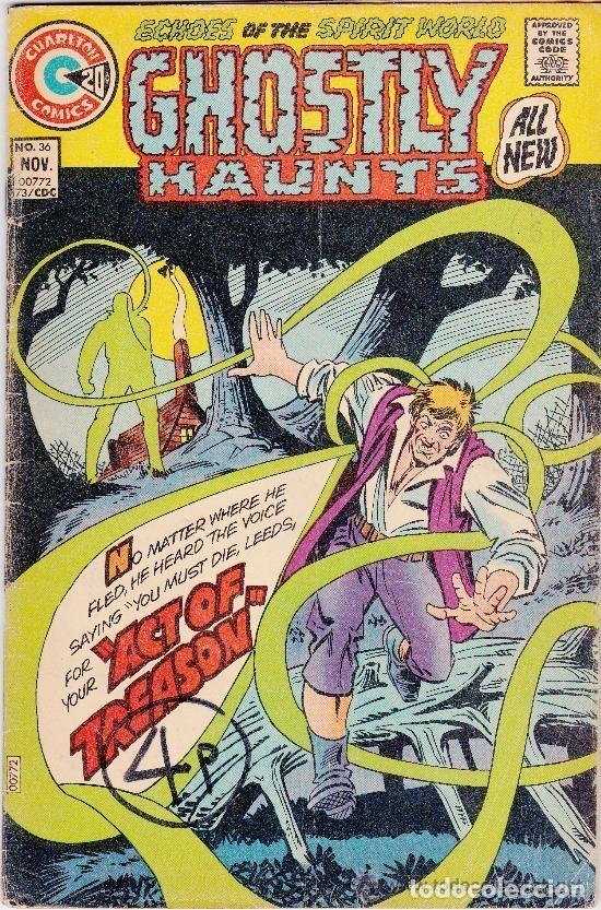 GHOSTLY HAUNTS ,ECHOES OF THE SPIRIT WORLD -1973- NOV Nº 36 (Tebeos y Comics - Comics Lengua Extranjera - Comics USA)