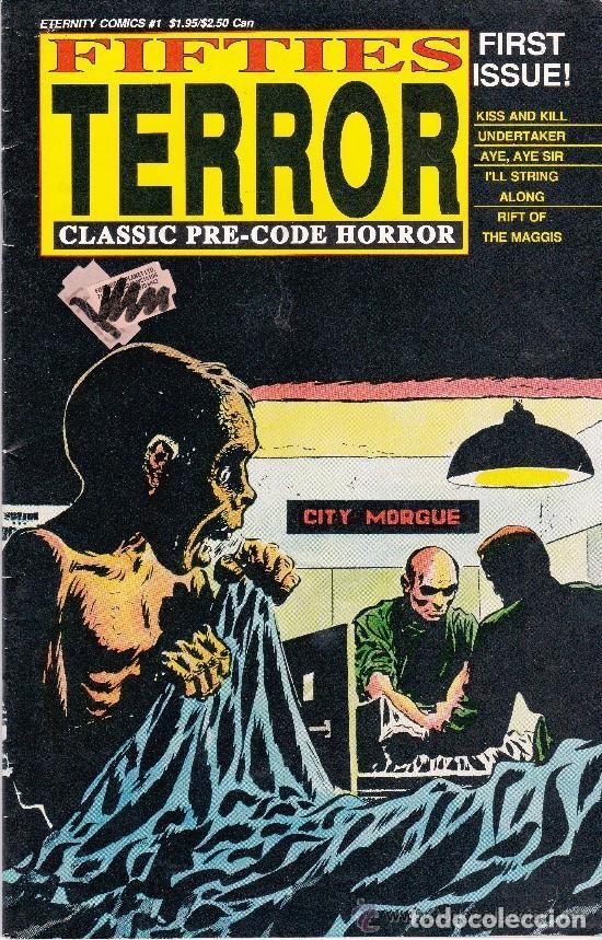 FIFTIES TERROR,1988 #1 (Tebeos y Comics - Comics Lengua Extranjera - Comics USA)