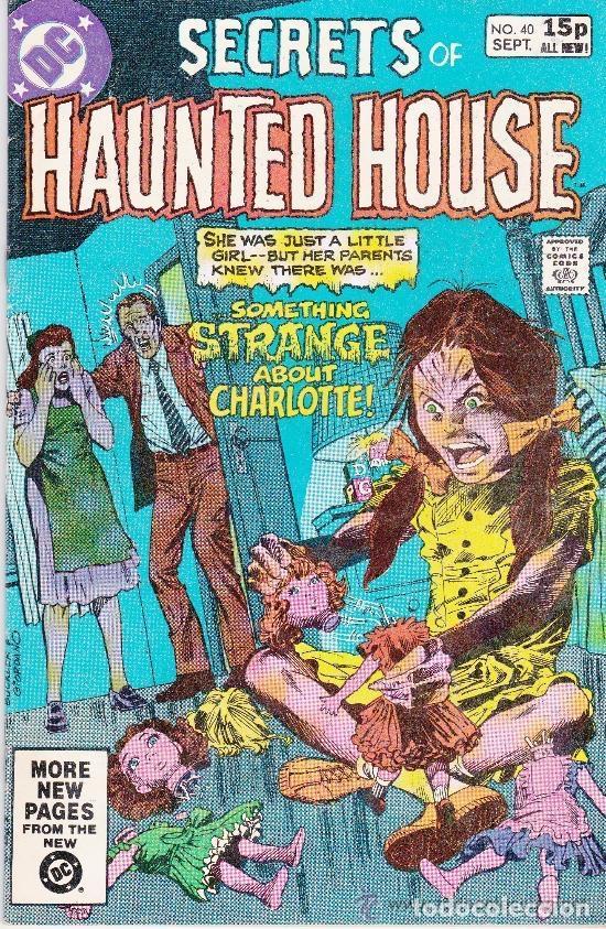 SECRETS OF HAUNTED HOUSE #40 SEPTEMBER,1981 (Tebeos y Comics - Comics Lengua Extranjera - Comics USA)