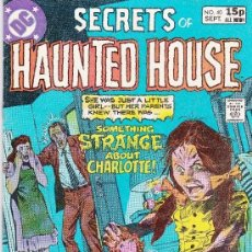 Cómics: SECRETS OF HAUNTED HOUSE #40 SEPTEMBER,1981. Lote 147978306