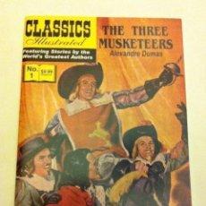 Cómics: CLASSICS ILLUSTRATED - THE THREE MUSKETEERS -Nº. 1 (2007) - 9.99$- A ESTRENAR. Lote 148034822