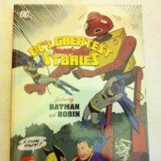 Cómics: DC´S GREATEST STORIES - 144 PÁGINAS 2010 - (19,99$)- A ESTRENAR. Lote 148035266