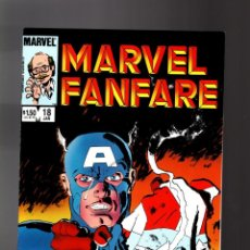 Cómics: MARVEL FANFARE 18 - 1985 VFN- / CAPTAIN AMERICA / ROGER STERN & FRANK MILLER. Lote 195354438