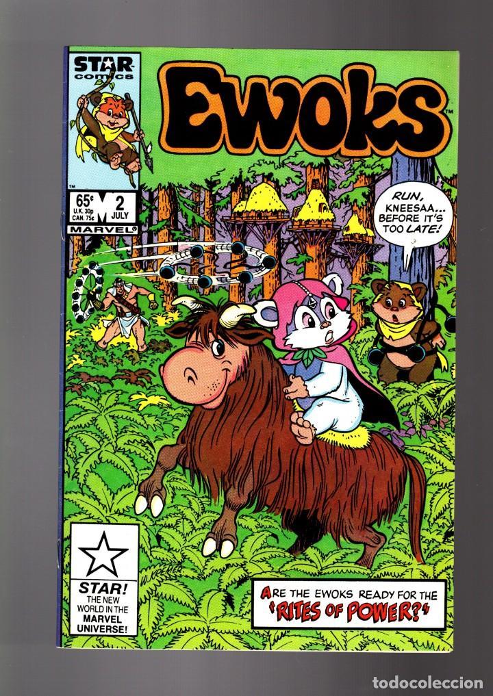 EWOKS 2 - MARVEL STAR 1985 FN/VFN / STAR WARS (Tebeos y Comics - Comics Lengua Extranjera - Comics USA)
