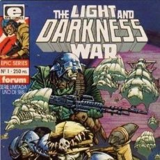 Cómics: THE LIGHT AND DARKNESS WAR (SERIE COMPLETA 6 EJEMPLARES). Lote 148172198