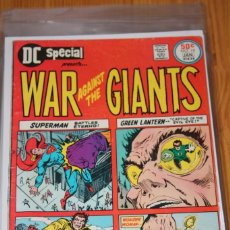 Cómics: DC SPECIAL 19 WAR AGAINST GIANTS DC VG/FN. Lote 148598230