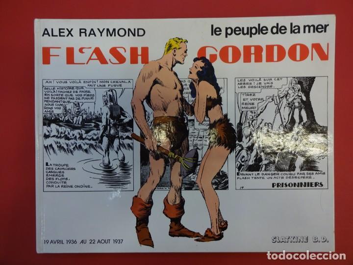 FLASH GORDON. ALEX RAYMOND. TOMO FRANCÉS. LE PEUPLE DE LA MER. AVRIL 1936-AOUT 1937 (Tebeos y Comics - Comics Lengua Extranjera - Comics USA)