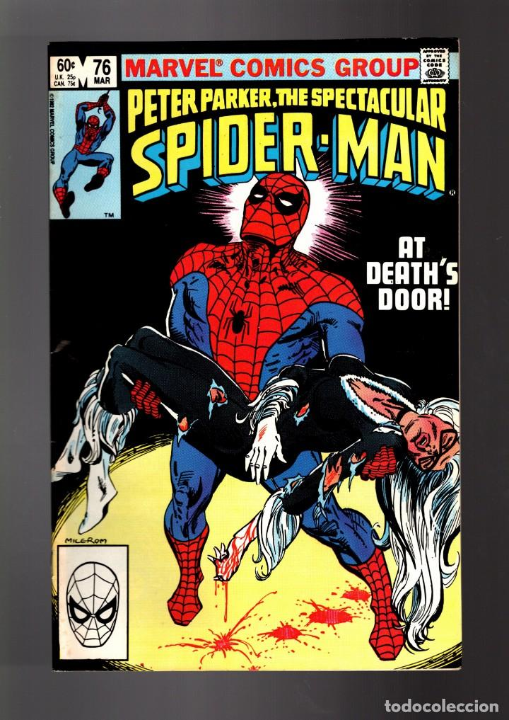 Peter Parker The Spectacular Spider Man 76 Ma Sold At