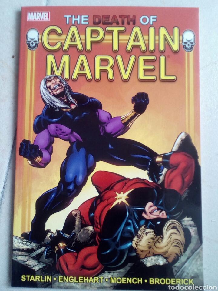 MUERTE DEL CAPITÁN MARVEL + CAPTAIN MARVEL #34, MARVEL SPOTLIGHT #1, #2 (EN INGLÉS) (Tebeos y Comics - Comics Lengua Extranjera - Comics USA)