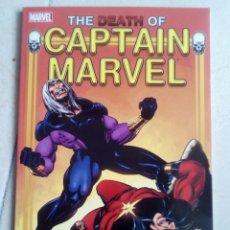 Cómics: MUERTE DEL CAPITÁN MARVEL + CAPTAIN MARVEL #34, MARVEL SPOTLIGHT #1, #2 (EN INGLÉS). Lote 148915578