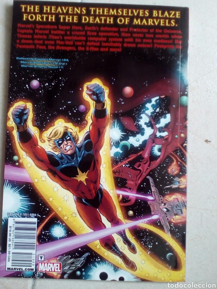 Cómics: Muerte del Capitán Marvel + Captain Marvel #34, Marvel Spotlight #1, #2 (en inglés) - Foto 2 - 148915578