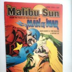 Cómics: MALIBU SUN Nº 24 - MAN OF WAR - USA ABRIL 1993 // DAN DANKO & TOM MASON & BRIAN LEE. Lote 148919978