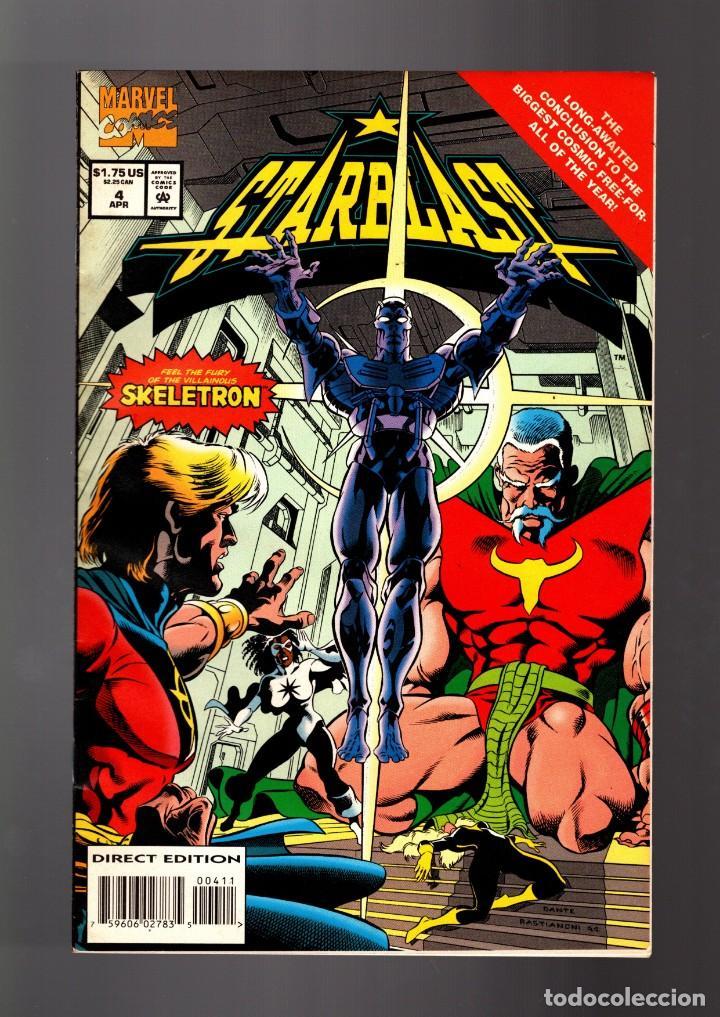 STARBLAST 4 - MARVEL 1994 VFN / QUASAR (Tebeos y Comics - Comics Lengua Extranjera - Comics USA)