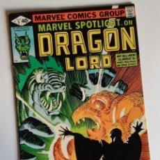 Cómics: OCASION NAVIDAD: MARVEL SPOTLIGHT ON DRAGON LORD. PORTADA DE FRANK MILLER, DIBUJO DE STEVE DITKO.. Lote 135465946