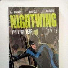 Cómics: NIGHTWING, THE LOST YEAR, EN INGLÉS. Lote 150626730