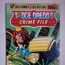 Cómics: JUDGE DREDD'S CRIME FILE 1 EAGLE COMICS. Lote 150825602